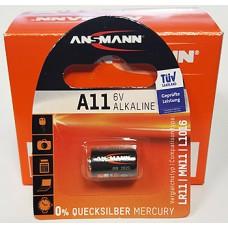 Батарейка ANSMANN A11, LR 11, MN 11, L 1016
