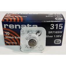 Батарейка RENATA 315, SR716SW