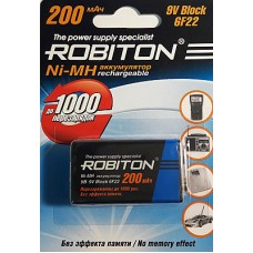 Аккумулятор ROBITON (крона) 6F22