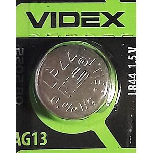 Батарейка VIDEX AG13, LR44, A76, 357, 303