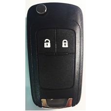 CHEVROLET выкидной ключ перфо без платы и чипа (2 кнопки)