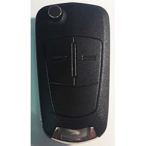 OPEL выкидной ключ перфо без платы и чипа (2 кнопки)
