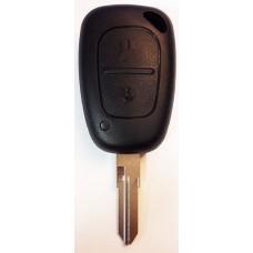 РЕНО RENAULT ключ без платы и чипа (2 кнопки)