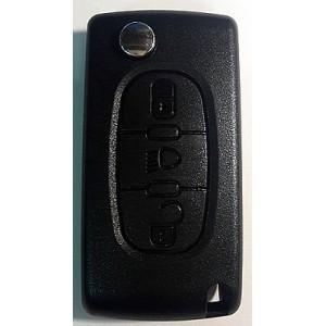 PEUGEOT выкидной ключ перфо без платы и чипа (3 кнопки)