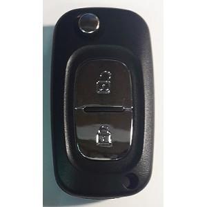 RENAULT выкидной ключ перфо без платы и чипа (2 кнопки)