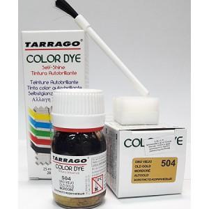 Краска для кожи Tarrago Color Dye Металлик (9 цветов)