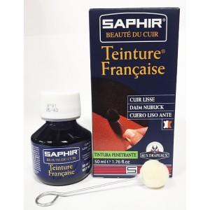 Краска для кожи, замша и  нубука Saphir Teinture Francaise (15 цветов)