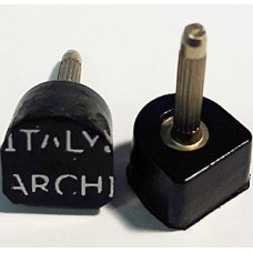 Architak (Архитак), размер 1, тонкий штырь, черный