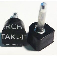 Architak (Архитак), размер 1, толстый штырь, черный