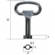 К35 Ключ для щитков и технических помещений круглый