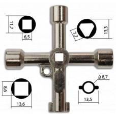 К36 Ключ проводника 4в1